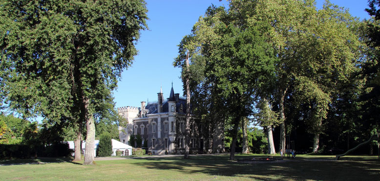 Parc et Château du Domaine Belle Epoque à Linxe 40
