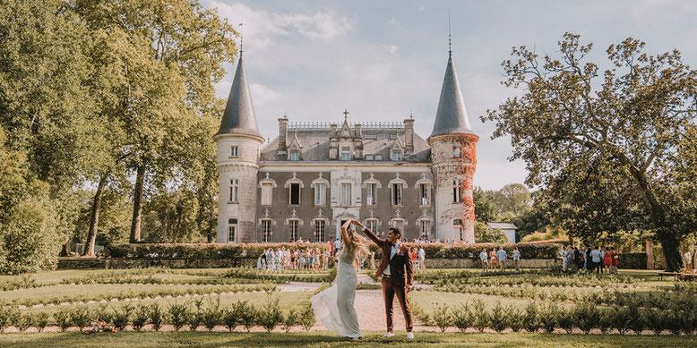 Le Domaine Belle Epoque, parc et Château pour les mariages à Linxe 40