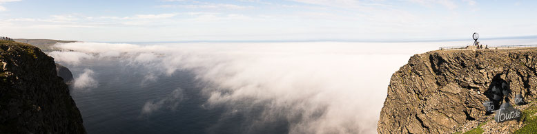 Nordkap - nördlichster Punkt des europäischen Festlandes