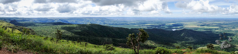 Mirante de Geodésia - der geografische Mittelpunkt Südamerikas