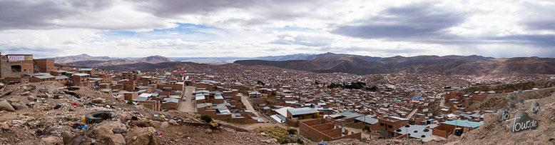 Potosí - eine der höchsten und ehemals reichsten Städte der Welt
