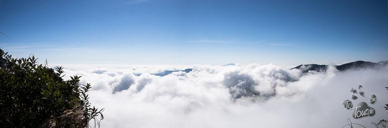 Zwischen Coroico und La Paz - Camino de la Muerte - über den Wolken