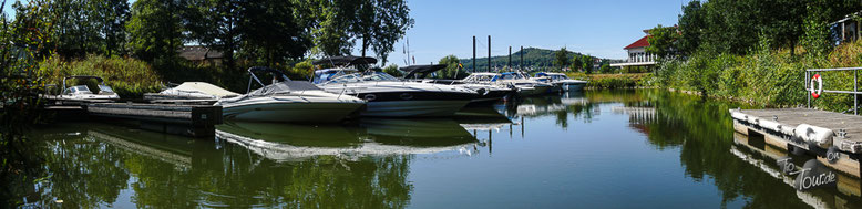 Yacht-Hafen in Hameln