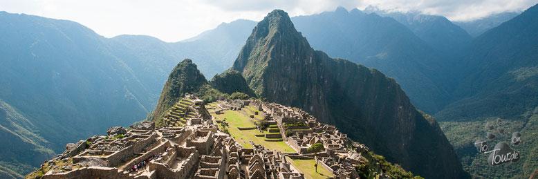 Machu Picchu - Inka-Ruinen und Unesco Weltkulturerbe