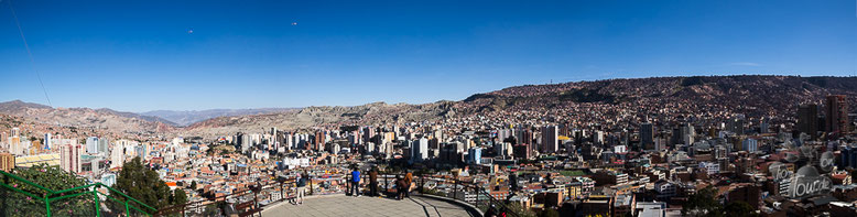 La Paz - Aussicht vom Killi Killi