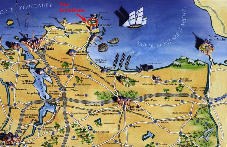 Cancale und seine Umgebung - cancale-vacances.net