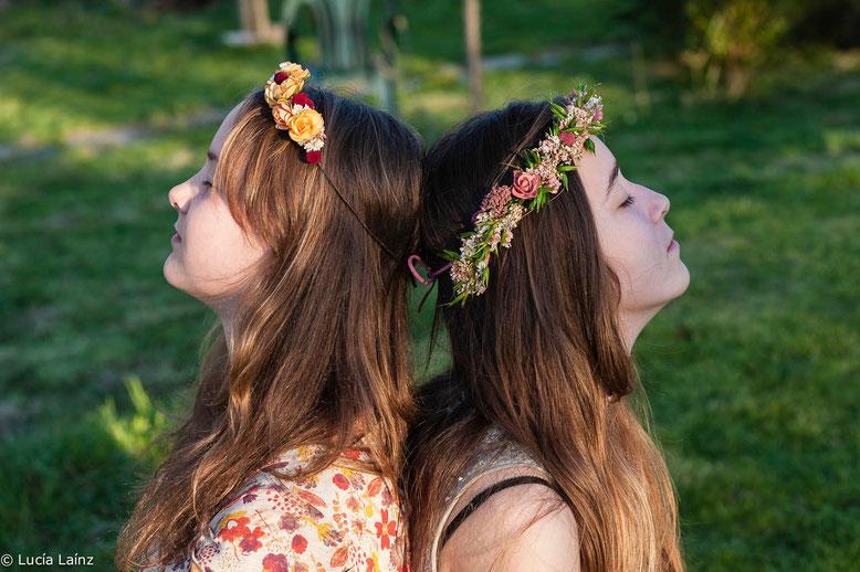 La Silvestre-coronitas de flores