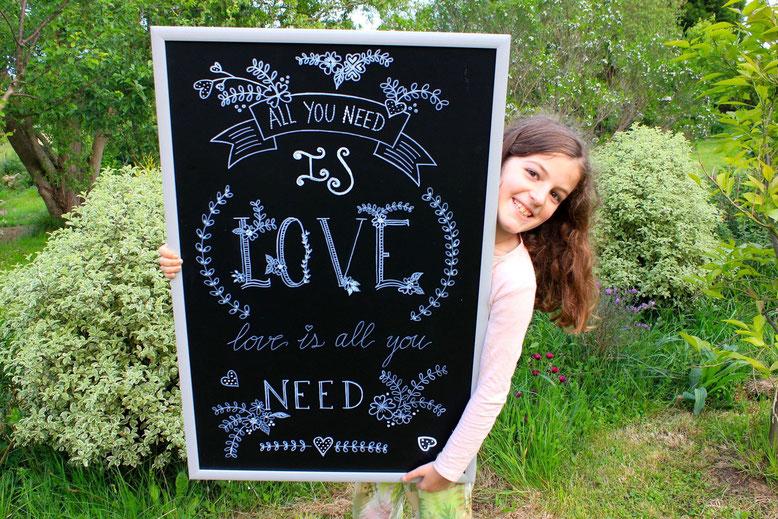 Pizarras decoradas para bodas-Santander