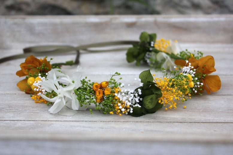 La Silvestre, Santander, coronas de flores