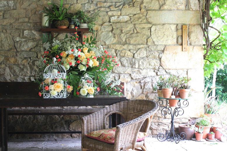 Flores para bodas-Santander