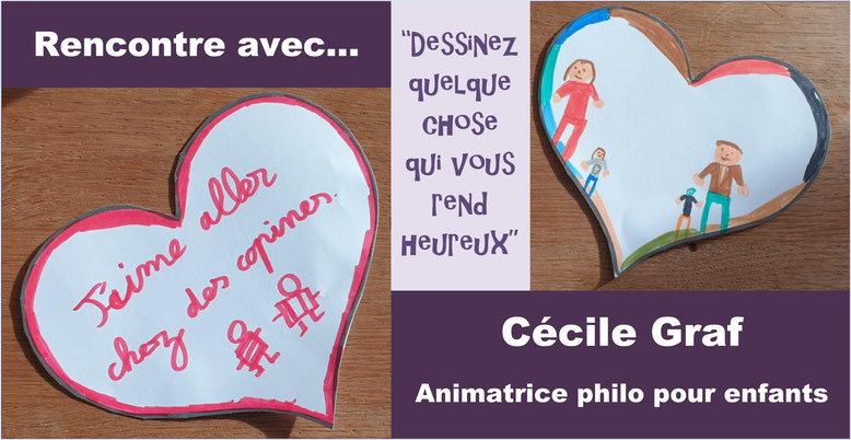 Cécile Graf. Animatrice philo pour enfant. Philobulle Annecy le Vieux