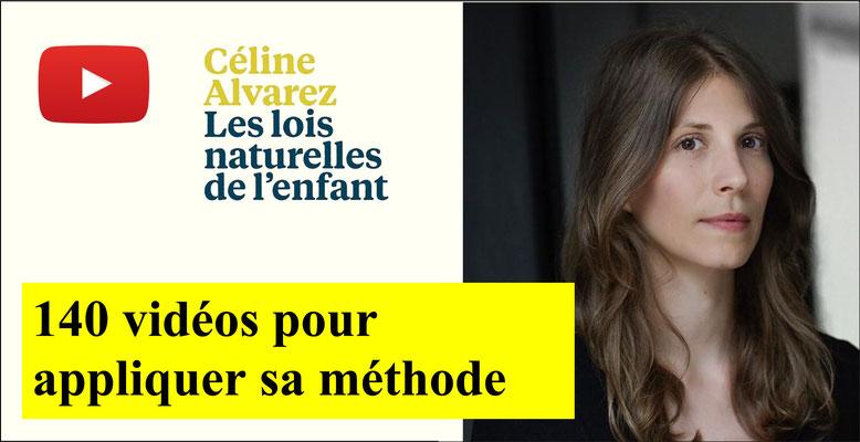 Céline Alvarez. Lois naturelles de l'enfant.