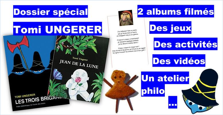 Tomi Ungerer. Philosophie pour enfants.