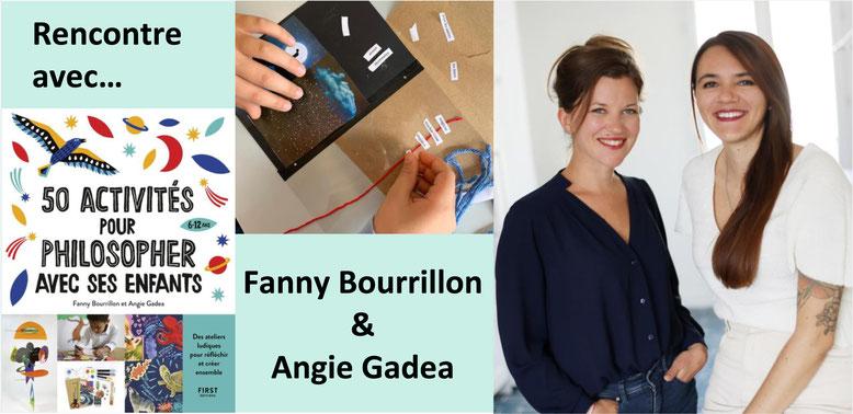 Fanny Bourrillon et Angie Gadea. 50 activités pour philosopher avec ses enfants.
