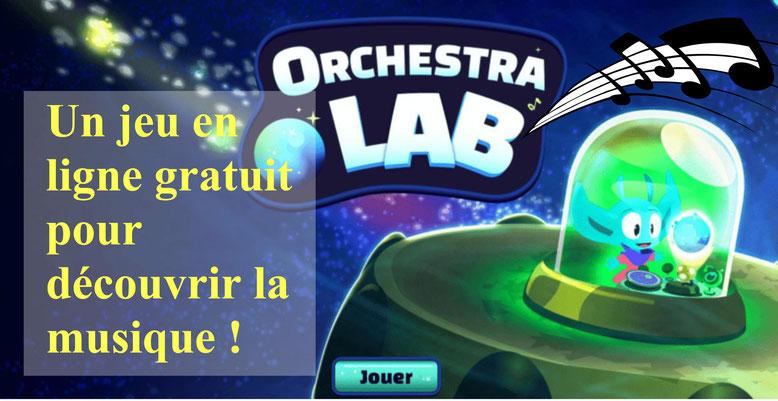 Orchestralab. Jeu musical en ligne gratuit.