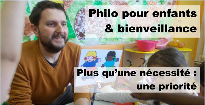 Philosophie pour enfants et bienveillance.