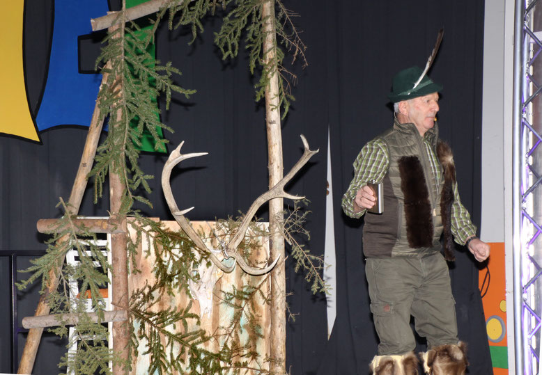 "Steiger Hermann als Jäger ""Hermanndl"""