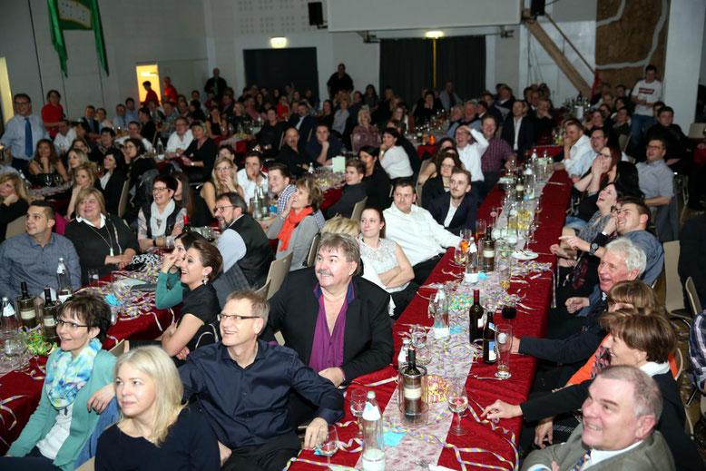 das Publikum war begeistert vom Ideenreichtum der der Akteure