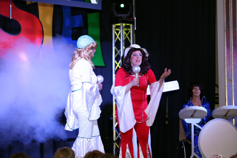 """""""ABBA"""" - mit Songs dieser Kultband hatten sie die Besucher auf ihrer Seite"""