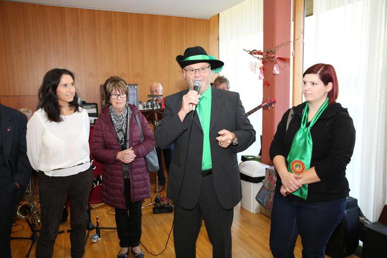 Kanzler Peter Lanz bedankt sich für die Einladung und sagt auch für die Zukunft die weitere Unterstützung zu