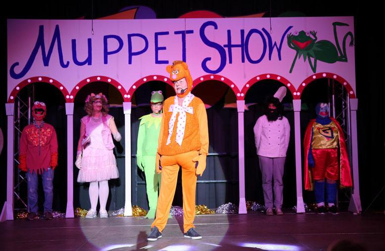 """Muppet Show"" - Marina Winkler, Heidi, Anita u. Inge Niederwimmer, Andrea u. Hansjörg Martin, Annelies Rohrer"