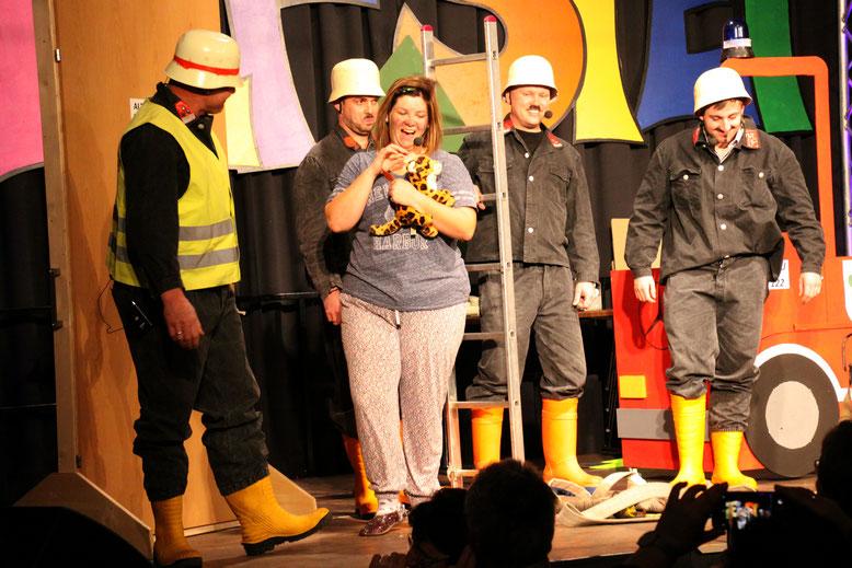 """""""Feuerwehr"""" - Lisa Linder, Ingo Jahn, Andreas u. Wolfgang Rohrer, Thomas Granig"""