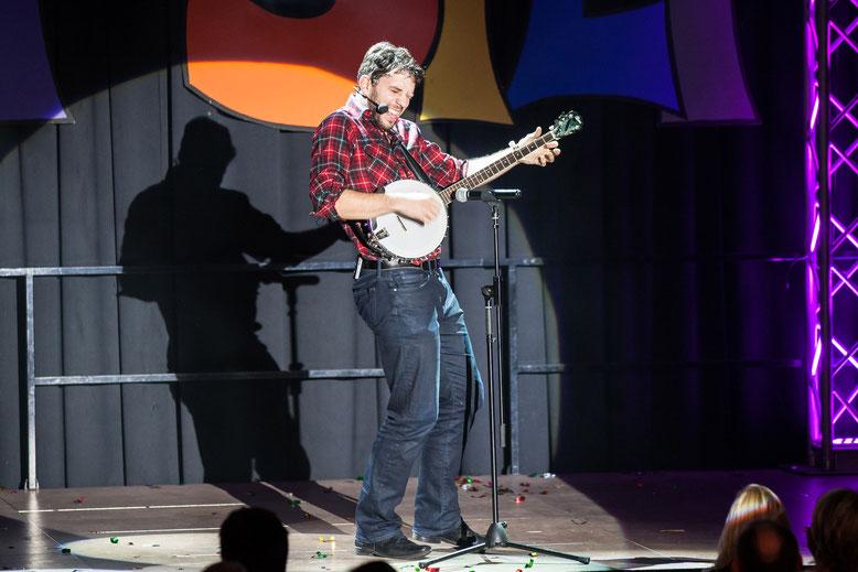 der amerikanische Gaststar - Andrew Lapidus - begeisterte das Publikum mit seinen mitreißenden Songs