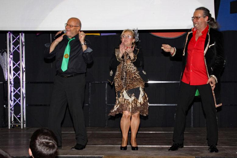 """Peter Lanz, Helga Lusar, Walter Widemair  -  """"Medley"""""""