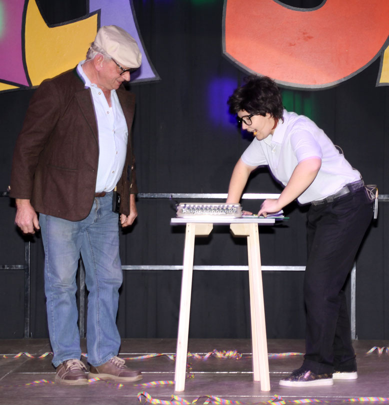 Karin Ebenberger, Pichler Franz - Schreibmaschine