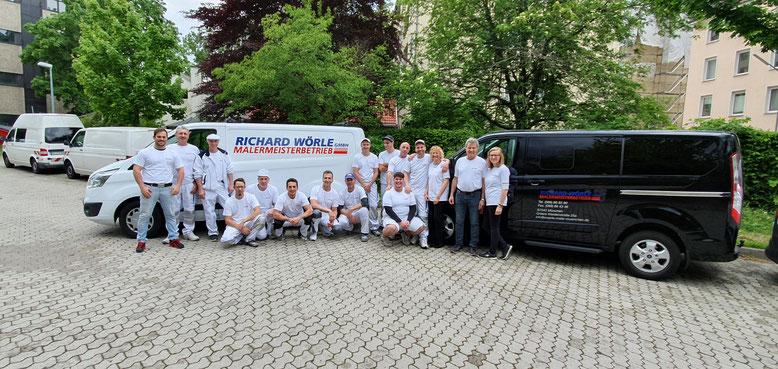 Das freundliche Team der Richard Wörle GmbH