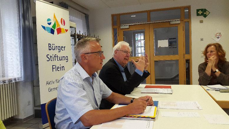Dieter Ernst berichtete über die Aktivitäten des Tauschrings Heilbronn
