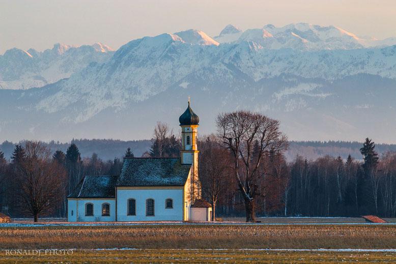 Oberbayern, München, Starnberger See, Ammersee, Kochelsee, Raisting, Bad Tölz, Fürstenfeldbruck, Kloster Fürstenfeld