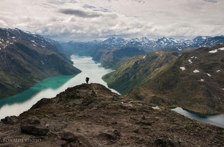 Norwegen, Jotunheimen, Besseggen, Gjende, Preikestolen, Grimsdalen, Geiranger, Nærøyfjord, Aurlandsfjord, Kannestein, Alesund, Oslo