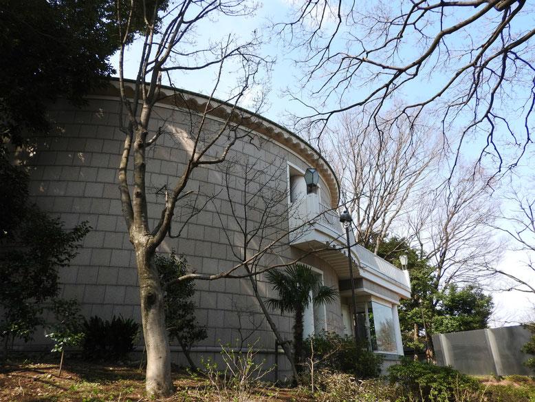神奈川近代文学館 170405撮影