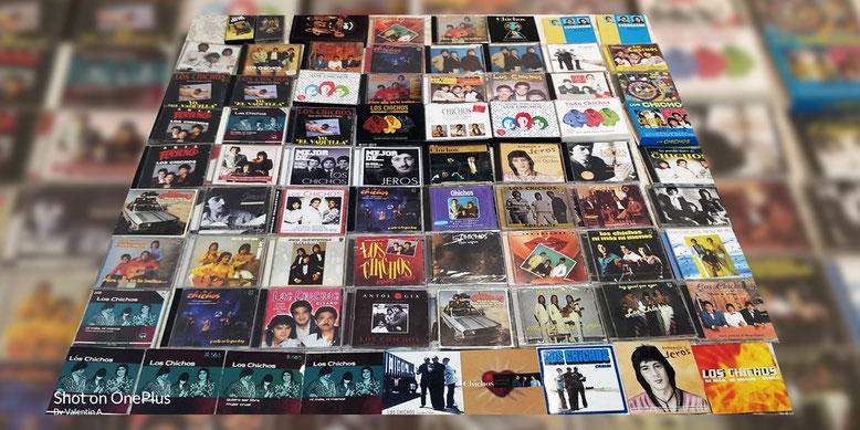 Cds y singles de Los Chichos ediciones originales y reeditados