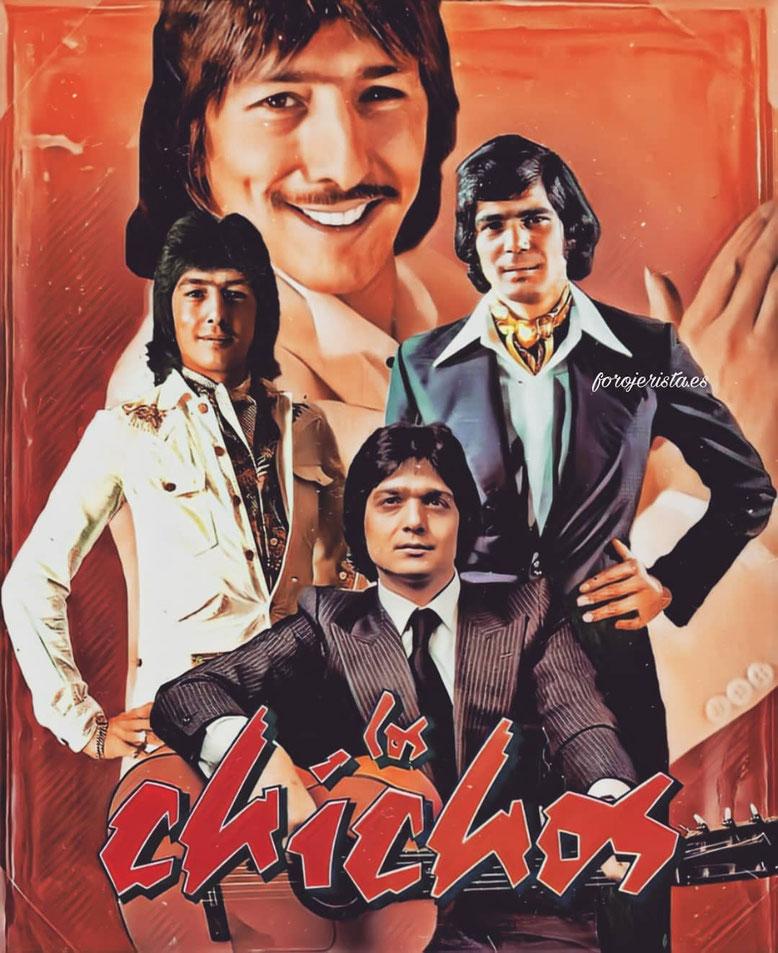 Los Chichos en diferentes épocas Jero, 1982 •  Emilio 1973 •  Julio 1981 . una idea de forojerista.es