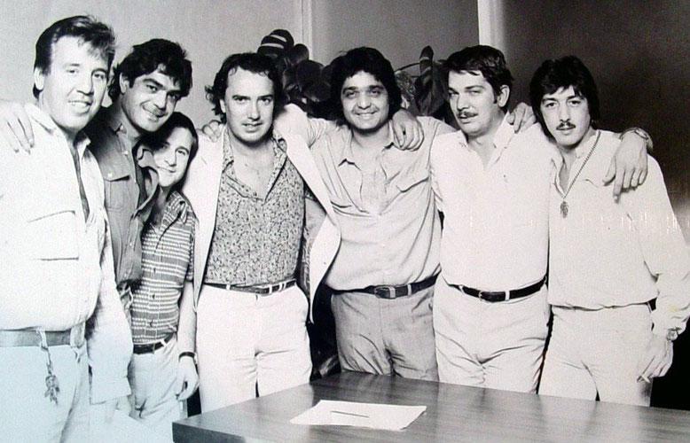 En 1982 Los Chichos renuevan con su discográfica de siempre .Foto archivos PHILIPS