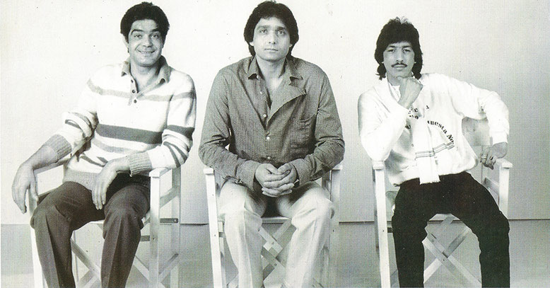 Los Chichos  promo ADELANTE 1984