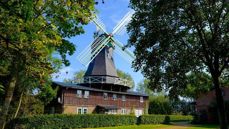 """Ferienwohnungen """"Osterbruch Mühle"""" in Osterbruch bei Otterndorf"""