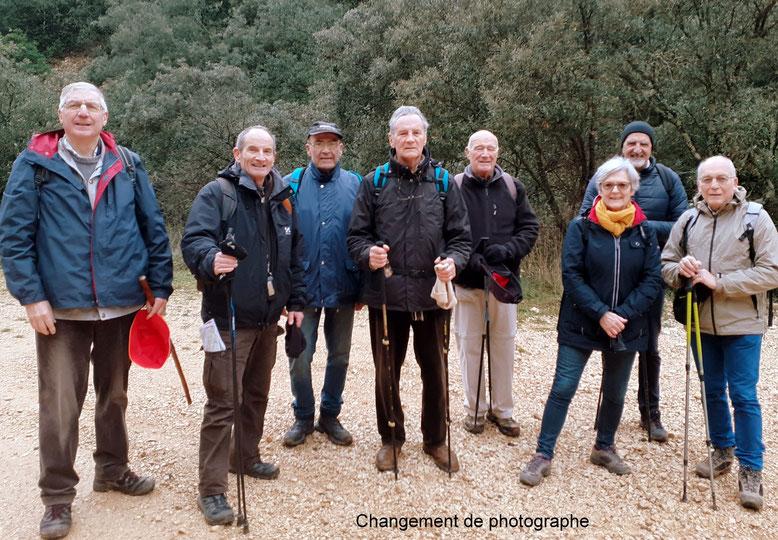 Photo du groupe des marcheurs du 21 janvier 2020 - anocr34.fr