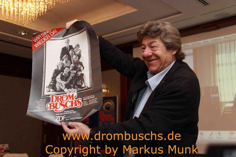 Michael Werlin beim Drombuschs-Fantreffen 2012 in Berlin