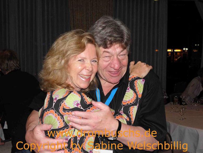 Marion Kracht (Tina Drombusch) und Michael Werlin beim Drombuschs-Fantreffen 2011 in Darmstadt