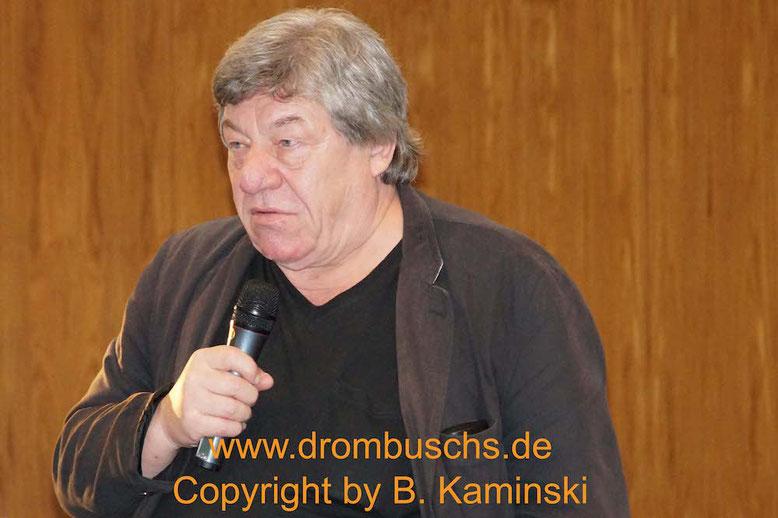 Michael Werlin beim Drombuschs-Fantreffen 2017 in Darmstadt