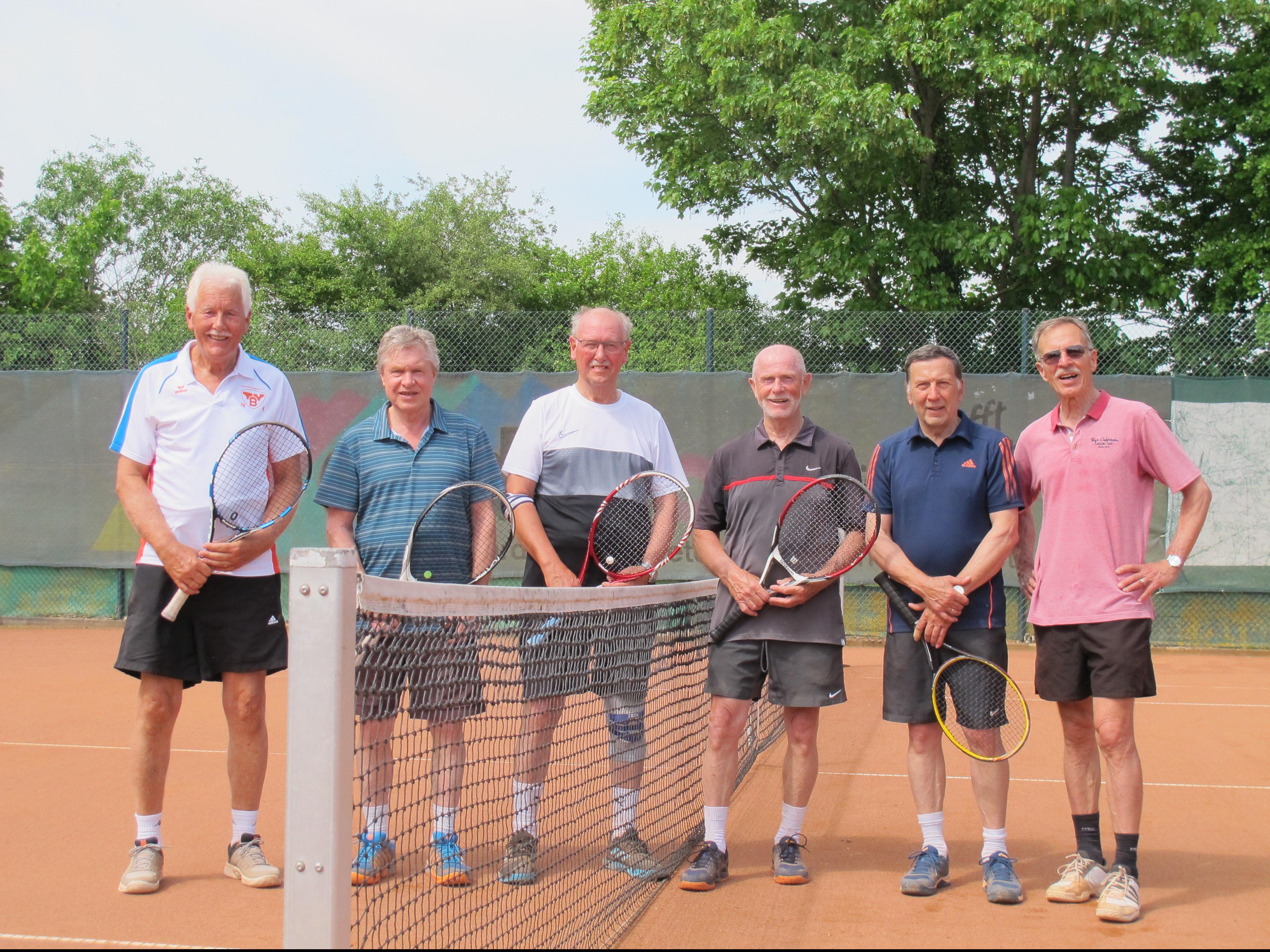 Bernd Schade, Manfred Stock,Reinhard Zindel, Horst Bauermeister, Jürgen Otto, Peter Riediger. Nicht im Bild: Stephan Beck