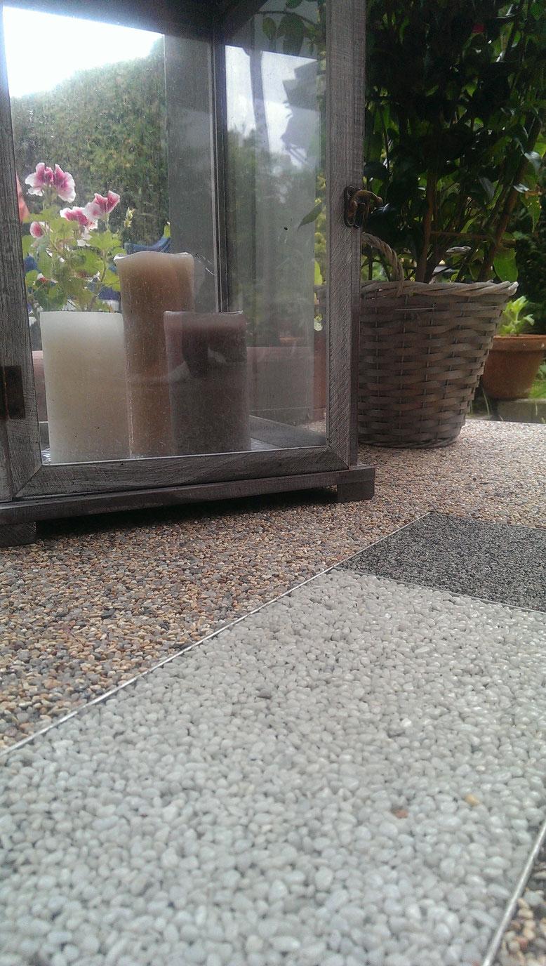 Natursteinteppich von Hahne