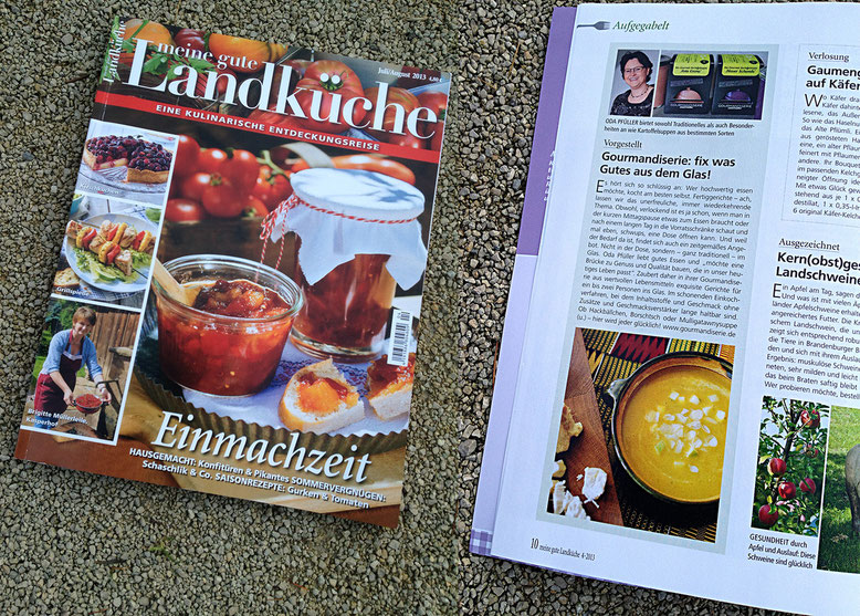 Meine gute Landküche, 7/8-2013