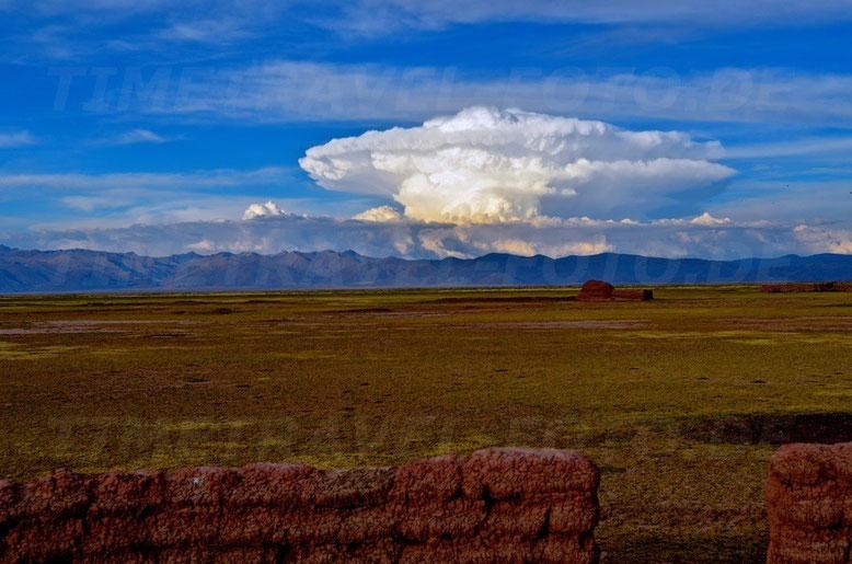 Wolkenexplosion. Foto: Esther Knipschild