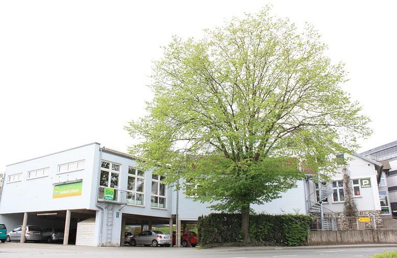 Parken bei Naturkost Schwarz - Ihrem Bio-Einkaufsmarkt in Wetzlar