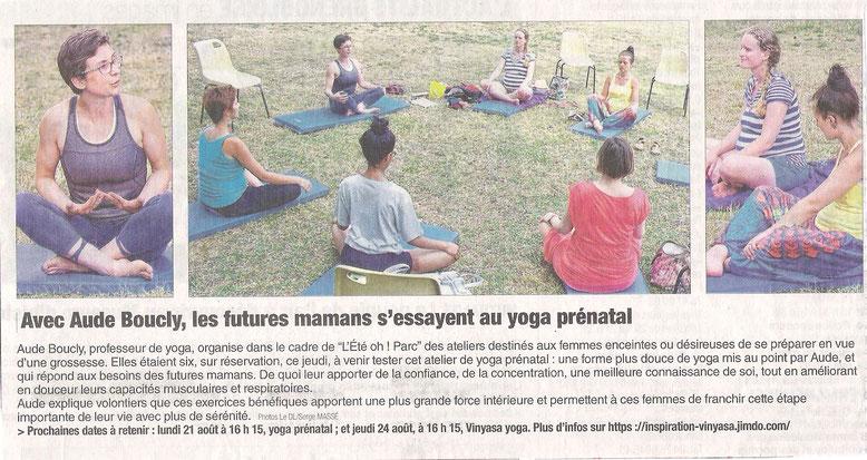 Yoga prénatal Grenoble