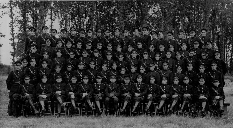 Opleiding gestichtswachter Veenhuizen augustus 1980